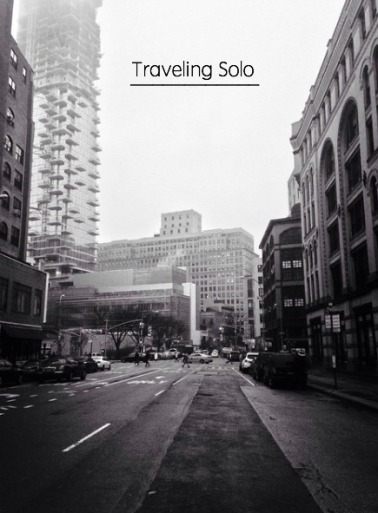Traveling solo